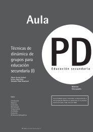 Técnicas de dinámica de grupos para educación secundaria (I)