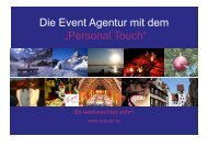 Dieieii - Event Marketing Agentur am Starnberger See mit dem