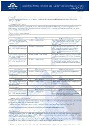 Assicurazione contro gli infortuni complementare alla LAINF - HOTELA