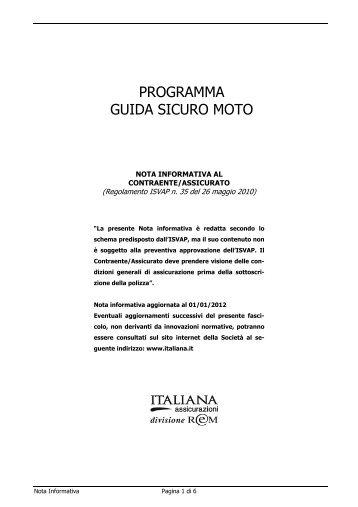 BBVA MOTO - Italiana Assicurazioni