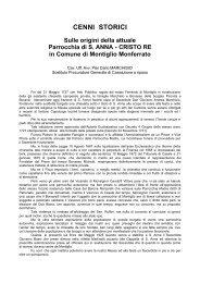Cenni storici sulle origini dell'attuale Parrocchia di S. Anna