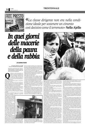 Quella - Corriere del Mezzogiorno - Corriere della Sera