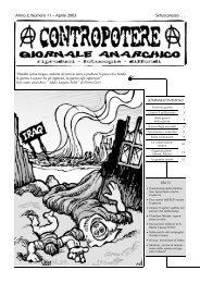 Anno 2, Numero 11 – Aprile 2003 Senza prezzo . . . - Isole nella Rete