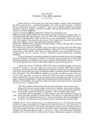 Zoscenko e l'atto della negazione - Laboratorio di Linguistica