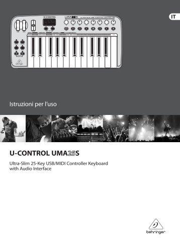 U-CONTROL UMA25S - Behringer