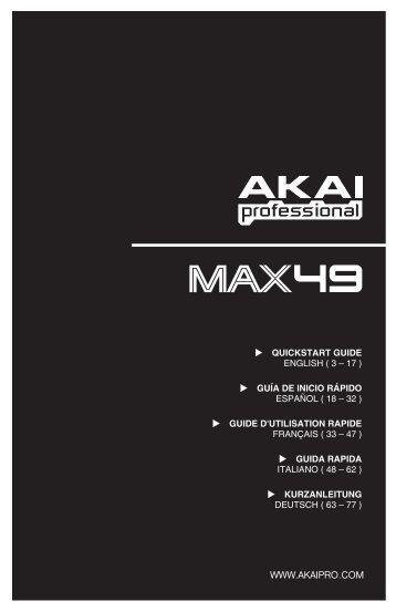 MAX49 - Quickstart Guide - RevA - RJshop