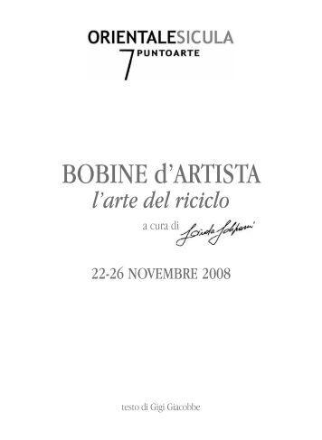 BOBINE d'ARTISTA