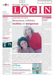 Login 4-2004 - PDF - Groupe Mutuel