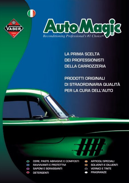 Catalogo Auto Magic - Vaber Industriale SpA