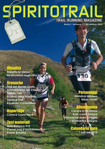 Calendario Ultratrail.Lavaredo Magazines