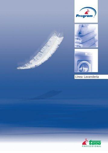 Linea lavanderia PROGRAM - Cleaning with Tana Professional.