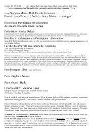 Cheese cake Gaetano Luca - Scuola di ristorazione Lonigo