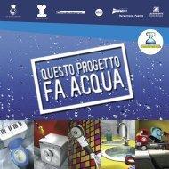 Opuscolo su come risparmiare acqua (progetto Non c - Provincia di ...