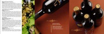 Vini bocchino - Brochure italiano