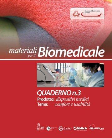 Materiali per il biomedicale - Innovazione - Cna
