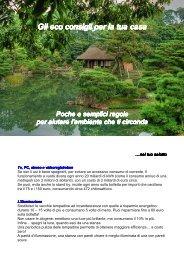 Eco consigli per la tua casa - greenfvg.it