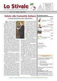 Saluto alla Comunità italiana - Comites