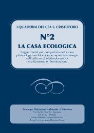 LA CASA ECOLOGICA - Comune di Sassuolo