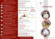 Hamster-Info-Flyer - DeAnnaberger