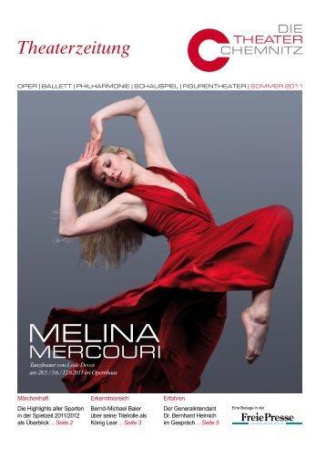 Die Theaterzeitung vom Sommer 2011 zum Download