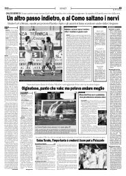 15/03/2007 Campionato 21a Giornata: Girone B - serie d news