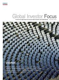 energie - Credit Suisse eMagazine - Deutschland