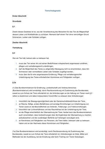 Tierschutzgesetz tierschutzverein offenbach e v for Uni offenbach