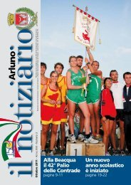 Notiziario ottobre 2011 - Comune di Arluno