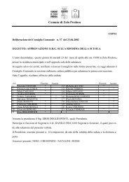 consiglio comunale - Comune di Zola Predosa