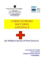corso di primo soccorso - Istituto d'Istruzione Superiore di Spilimbergo