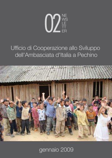 Newsletter numero 2 - Ambasciata d'Italia in Cina - Ministero degli ...