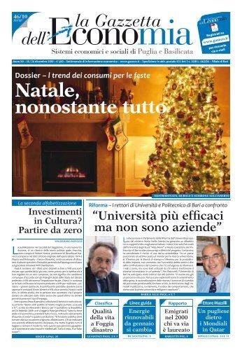 Natale, nonostante tutto - La Gazzetta dell'Economia