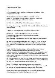 jade anschreiben - Tierschutzverein-Wesermarsch eV