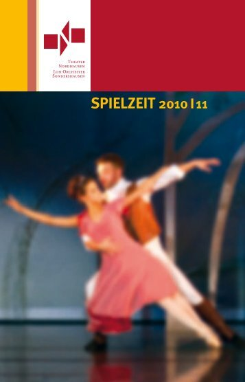 Spielzeitheft Theater Nordhausen 2010/2011