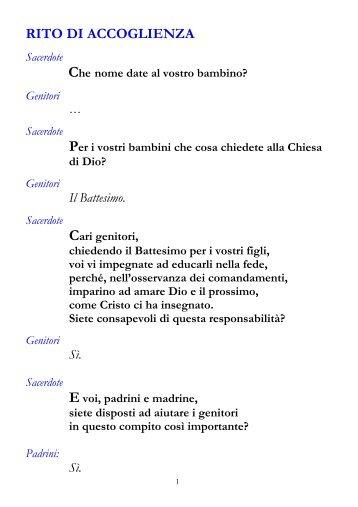 Libretto Matrimonio Rito Romano Qumran : Libretto ritiro cresime del pdf salesiani foggia