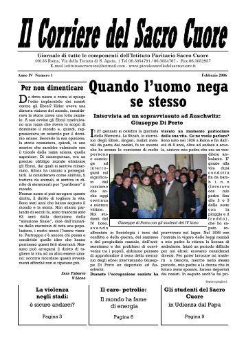 Quando l'uomo nega se stesso - febbraio 2006 (n.12)