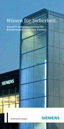 Wissen für Sicherheit. - Siemens Building Technologies