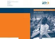 Demokratie und Partizipation von Anfang - PHZ Luzern