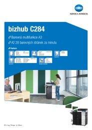 bizhub C284 - CZ MARUTO