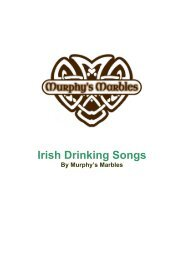 to Download your Songbook - Murphys Marbles