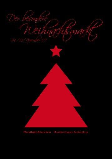 Weihnachtsmarkt - Markthalle Altenrhein