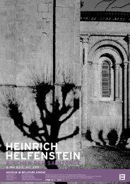 HEINRICH HELFENSTEIN - Museum im Bellpark
