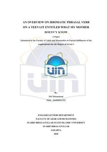 laporan keuangan - Institutional Repository UIN Syarif Hidayatullah ...