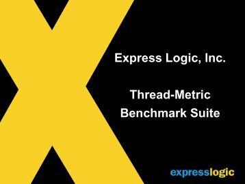 Measuring Real-Time Performance Of An RTOS - Express Logic