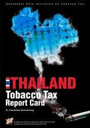 Thailand Tobacco Tax Report card 2010