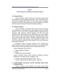 bab v penyusunan laporan keuangan skpd - Pemerintah Kabupaten ...