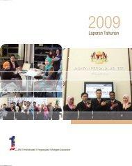 Laporan Tahunan 2009 - Jabatan Perdana Menteri