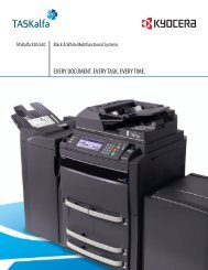 EVERY DOCUMENT. EVERY TASK. EVERY TIME. - Used Copiers
