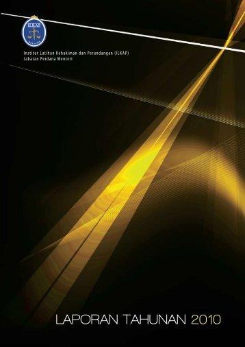 laporan tahunan 2010 - Institut Latihan Kehakiman Dan Perundangan