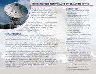 OHIO STRATEGIC ANALySIS AND INFORMATION CENTER